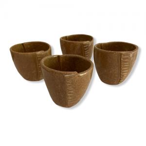 «ORIGAMI», set 4 vasos